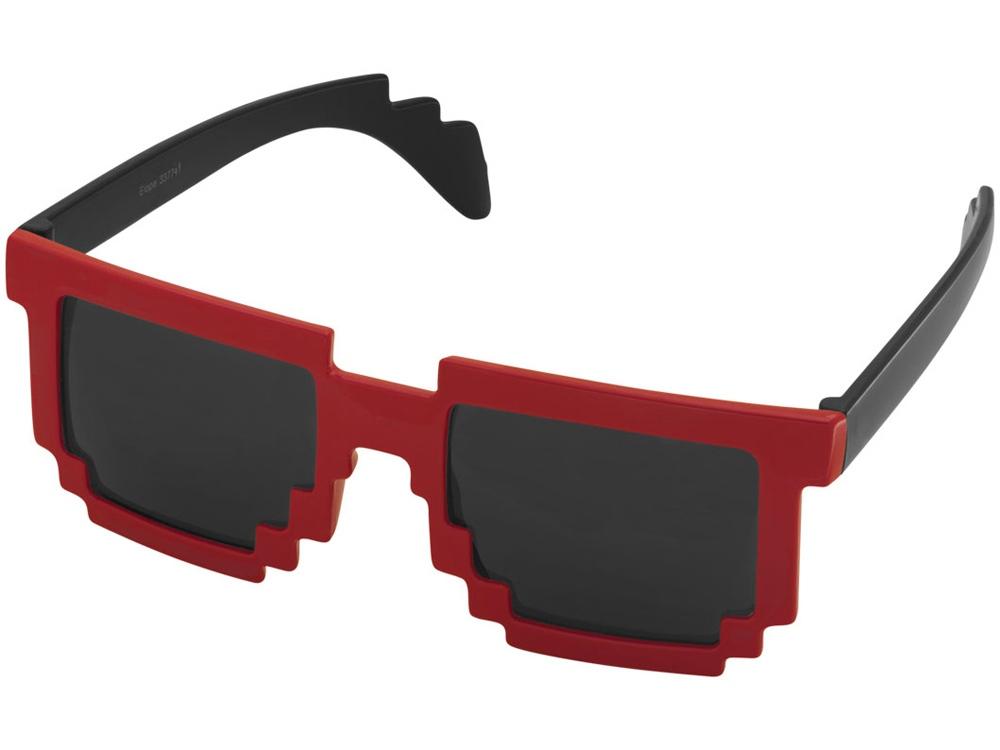 Очки Pixel, черный/красный