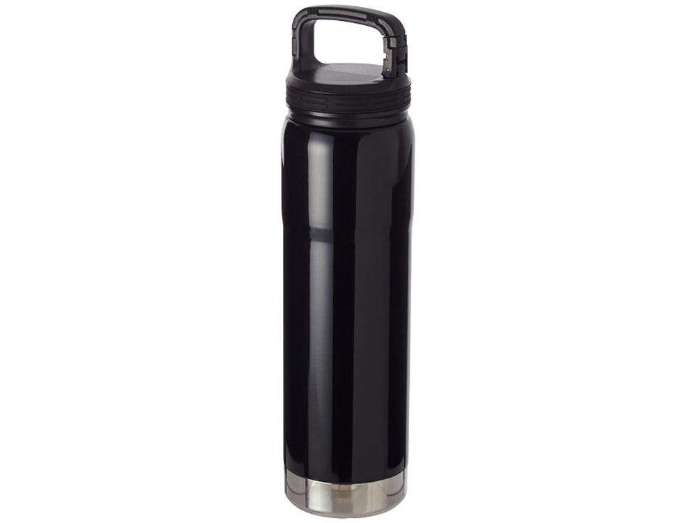 Вакуумная бутылка Hemmings с керамическим покрытием и медной изоляцией, черный