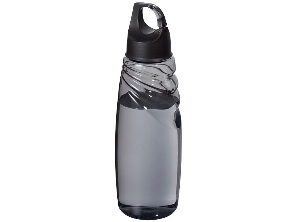 Спортивная бутылка Amazon Tritan™ с карабином, черный