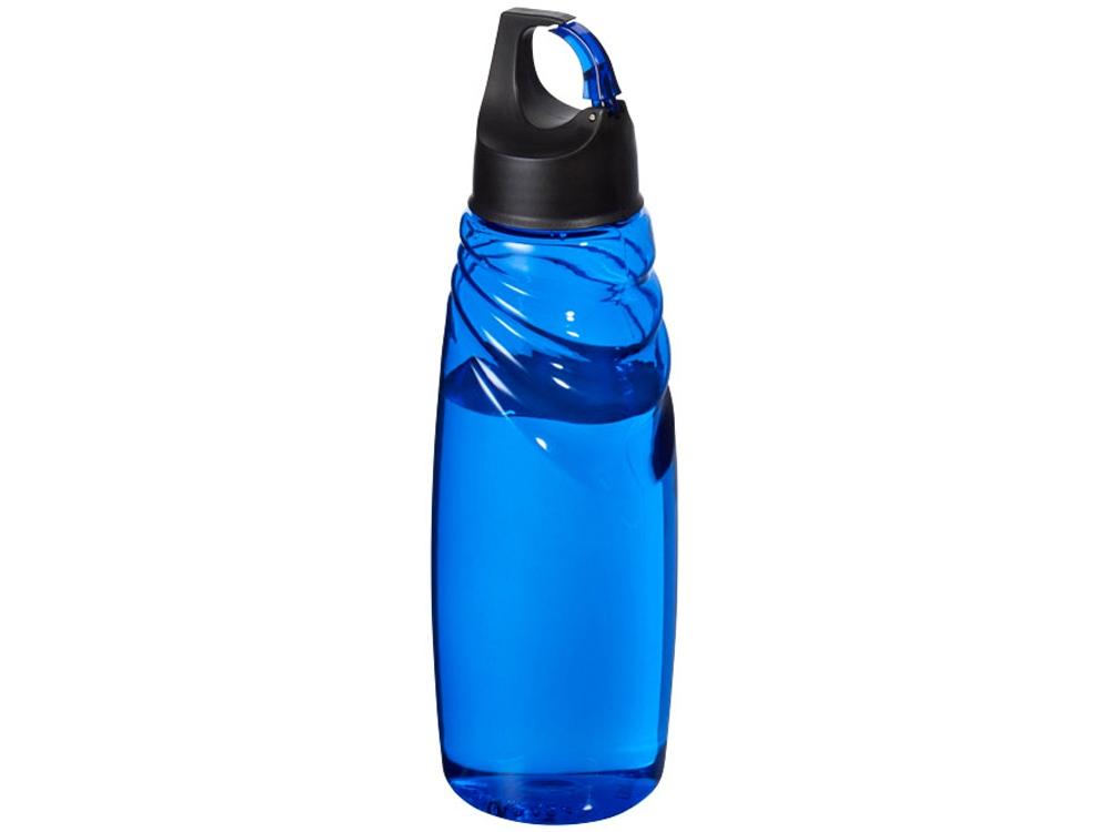 Спортивная бутылка Amazon Tritan™ с карабином, синий
