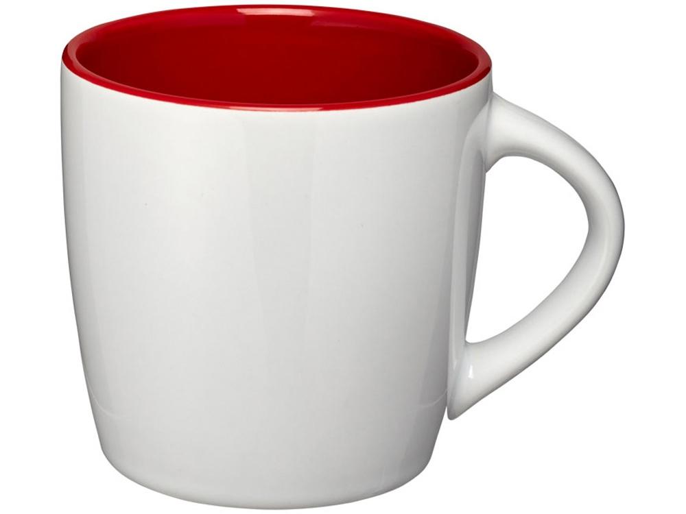 Керамическая чашка Aztec, белый/красный