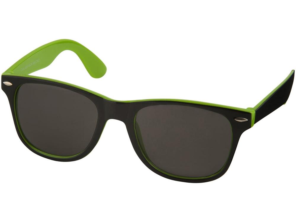 Солнцезащитные очки Sun Ray, лайм/черный