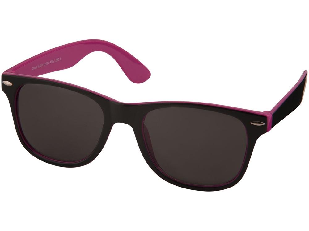 Солнцезащитные очки Sun Ray, розовый/черный