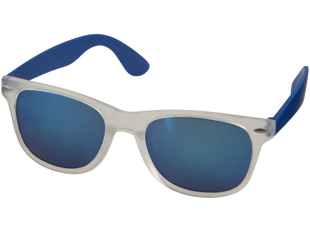 Солнцезащитные очки Sun Ray - зеркальные, ярко-синий