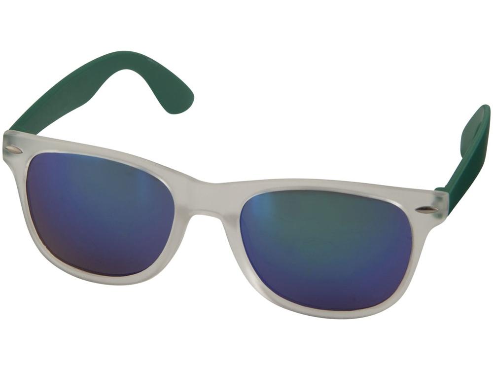 Солнцезащитные очки Sun Ray - зеркальные, зеленый