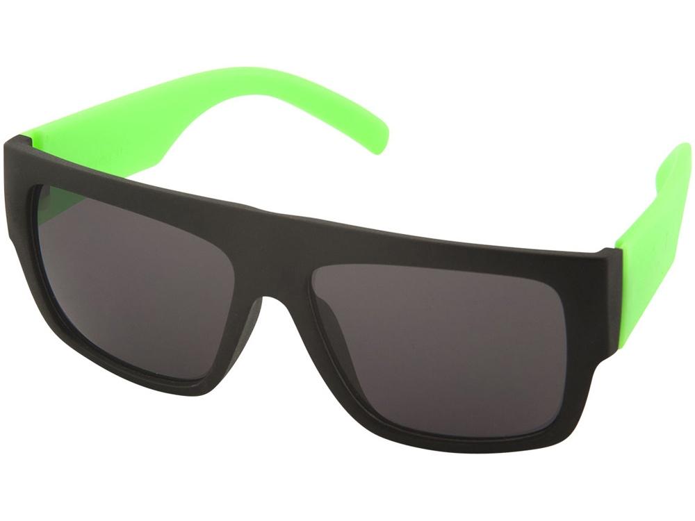 Солнцезащитные очки Ocean, лайм/черный