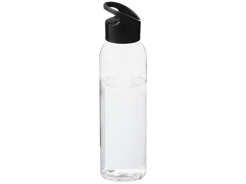 Бутылка Sky, черный/прозрачный