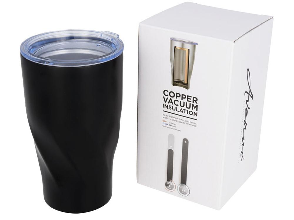 Вакуумный стакан Hugo, черный
