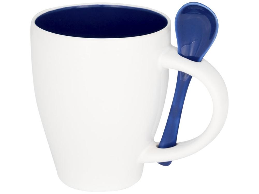 Чашка Nadu с ложкой, синий