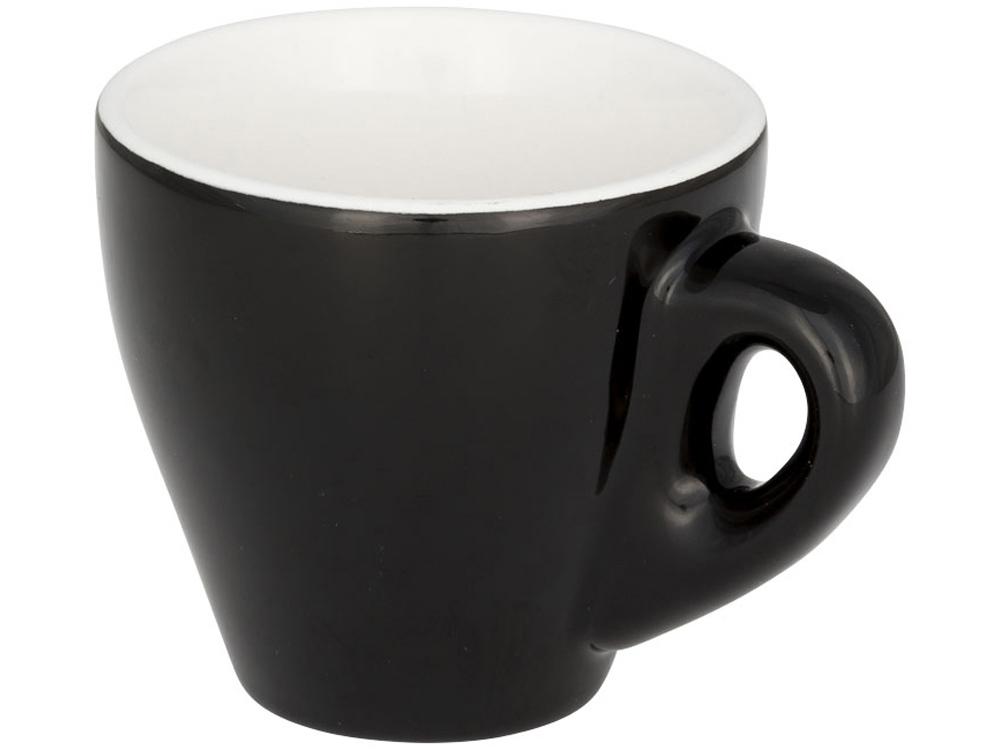 Цветная кружка для эспрессо Perk, черный