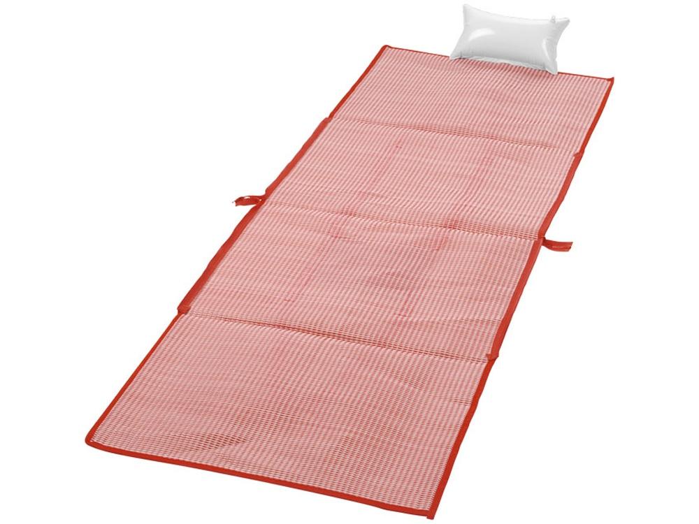 Пляжная складная сумка-тоут и коврик Bonbini, красный