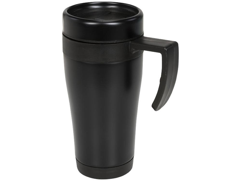 Кружка-термос Cayo 400 мл, черный