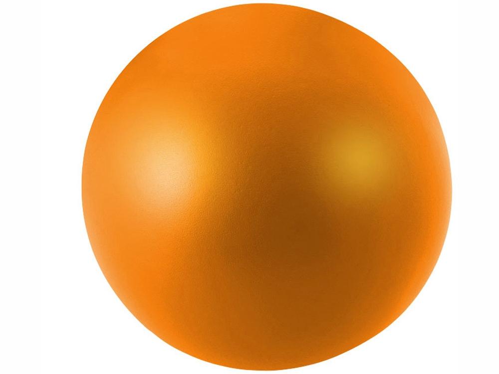 Антистресс в форме шара, оранжевый