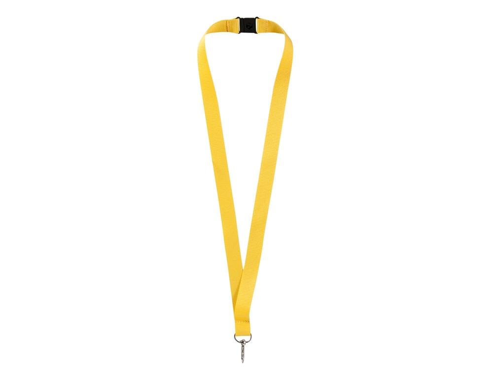 Ремешок на шею с карабином «Бибионе», желтый