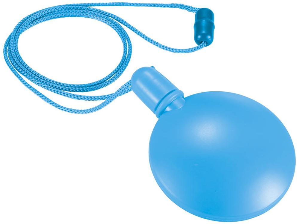 Круглый диспенсер для мыльных пузырей, синий