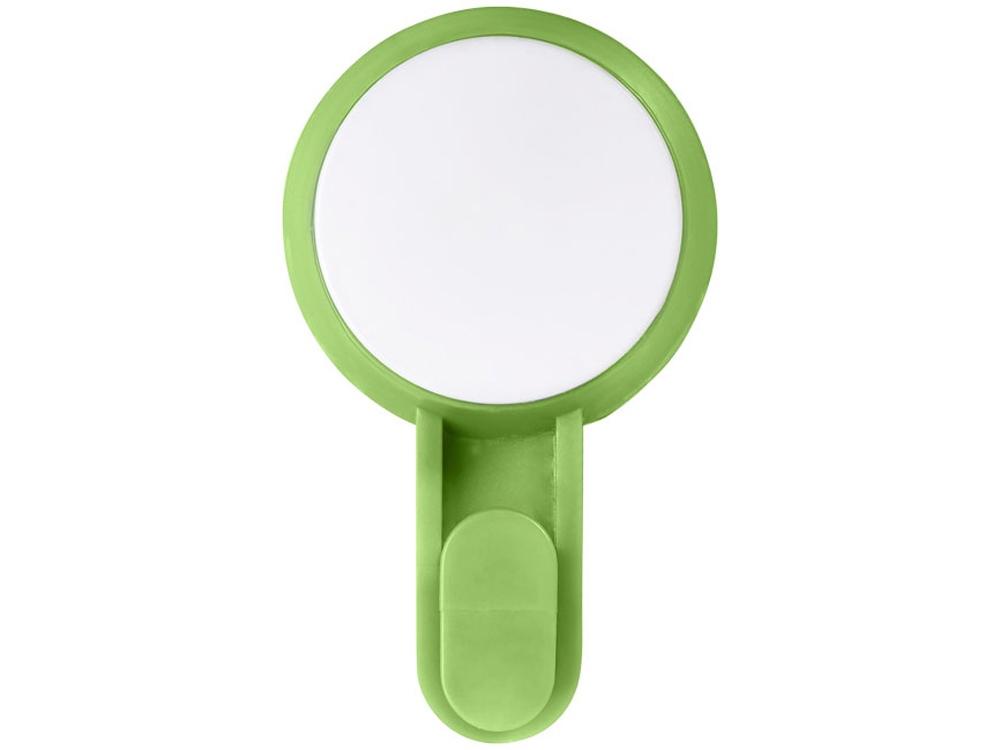 Крючок на присоске, зеленый