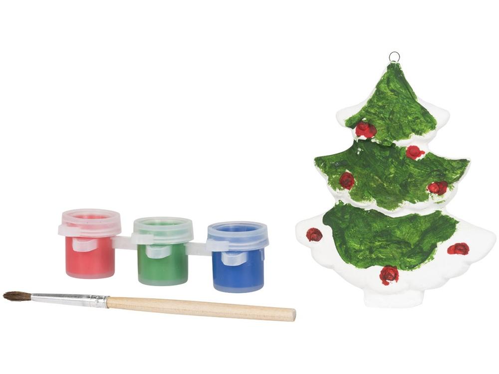 Раскрась рождественскую елку, белый