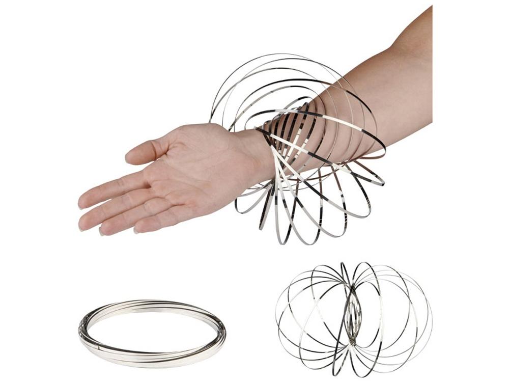 Кольцо для релаксации Flow, серебристый