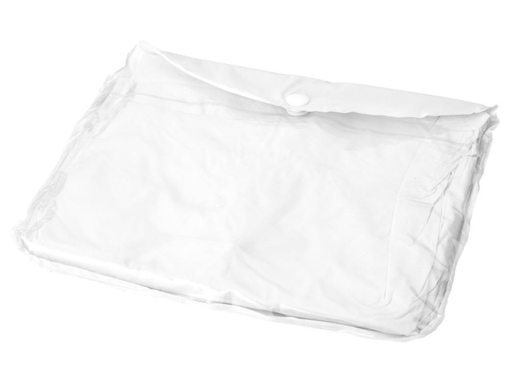 Дождевик с регулируемыми рукавами, белый