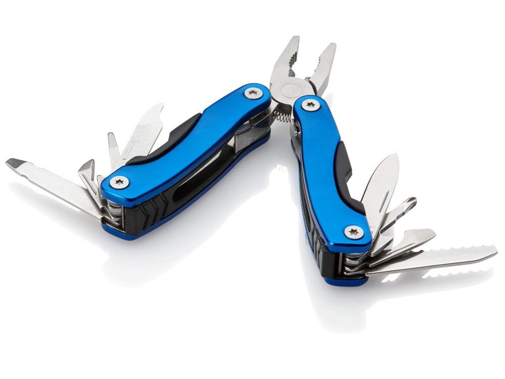 Инструмент многофункциональный в чехле, синий