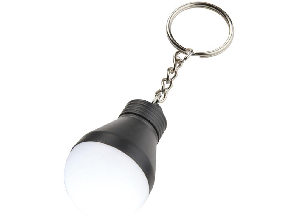 Брелок-фонарик Aquila, черный