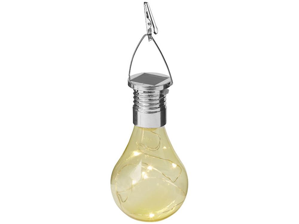 Солнечный диодный фонарь Surya, желтый