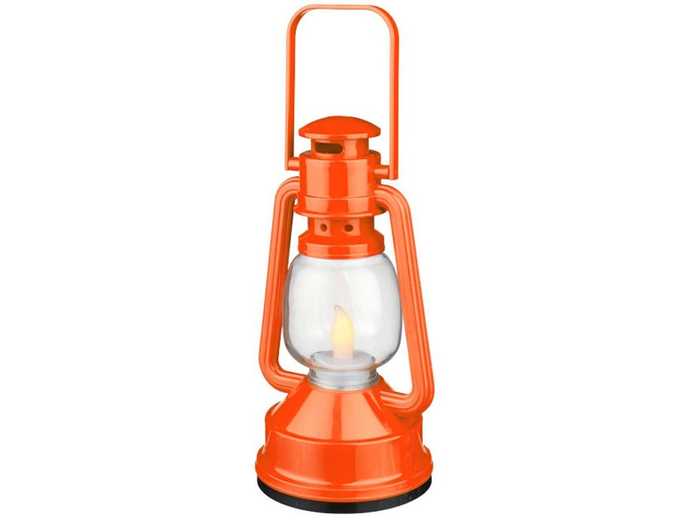 Диодный фонарик Emerald, оранжевый