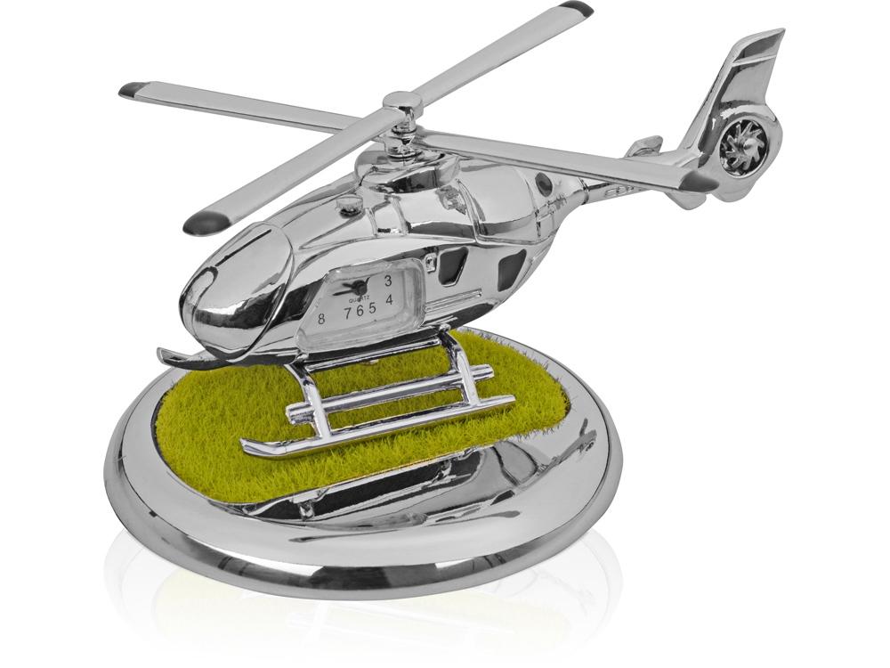 Часы «Вертолет», серебристый