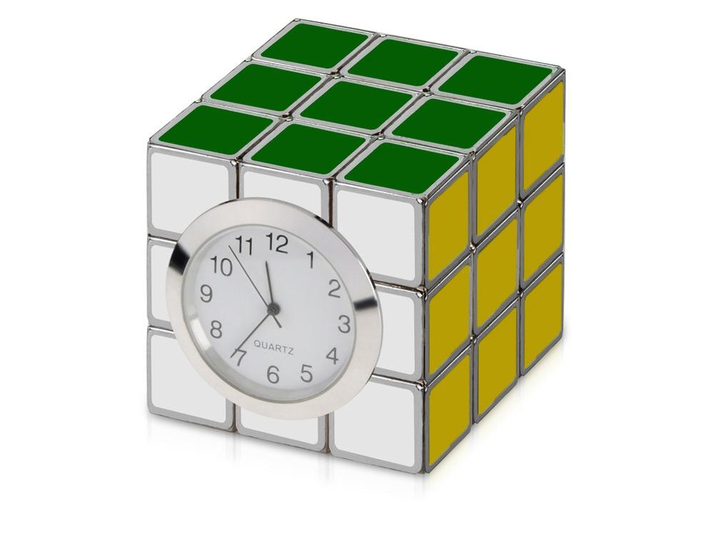 Часы «Головоломка», разноцветный