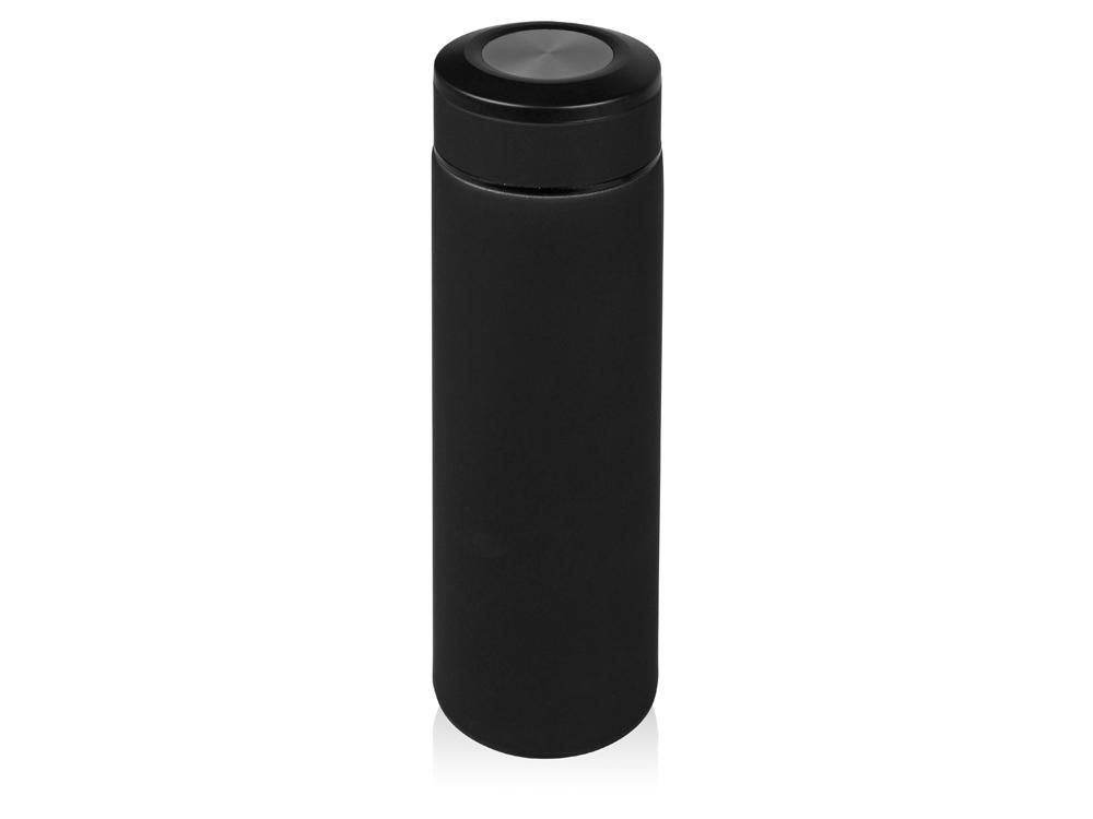 Термос Confident с покрытием soft-touch 480мл, черный