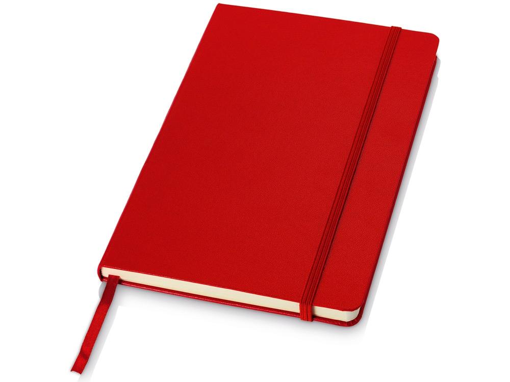 Блокнот классический офисный Juan А5, красный