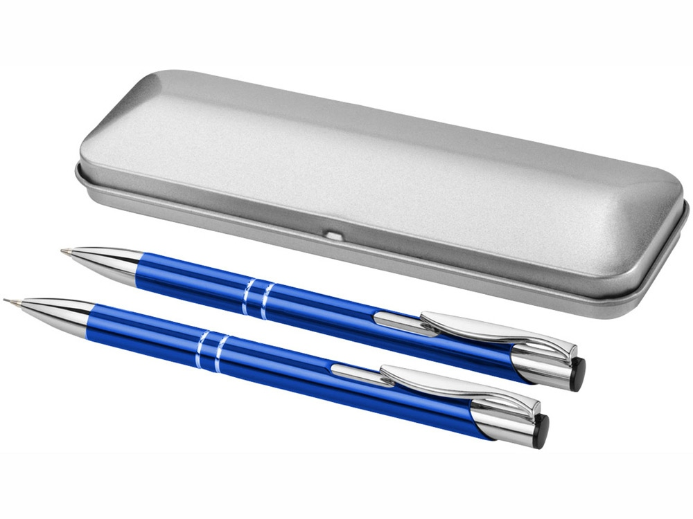 Набор Dublin: ручка шариковая, карандаш механический, ярко-синий