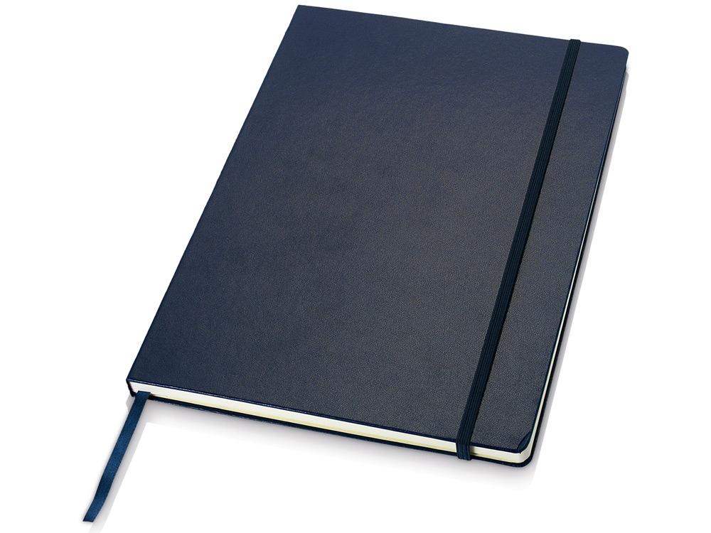 Классический деловой блокнот А4, синий