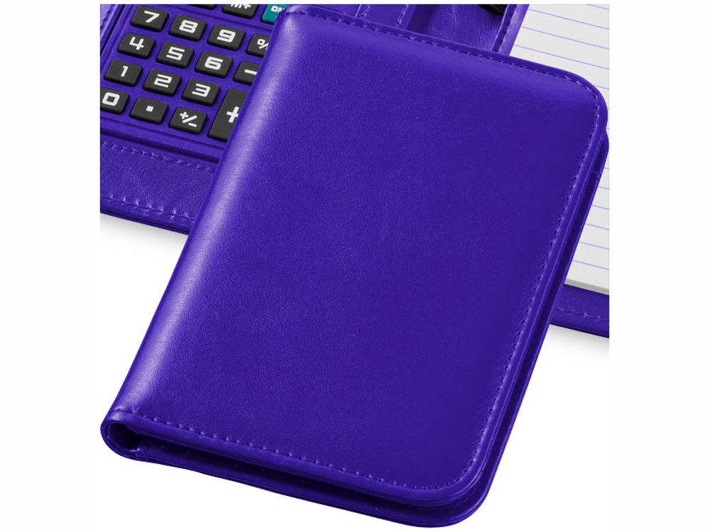 Блокнот А6 Smarti с калькулятором, пурпурный