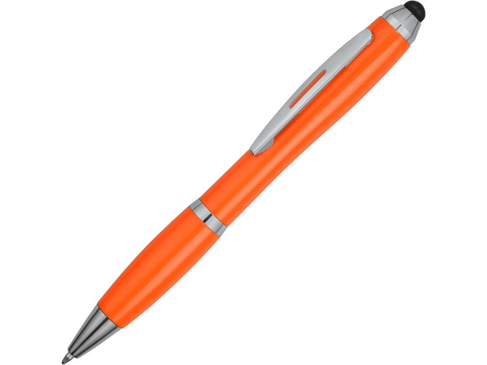 Ручка-стилус шариковая Nash, оранжевый