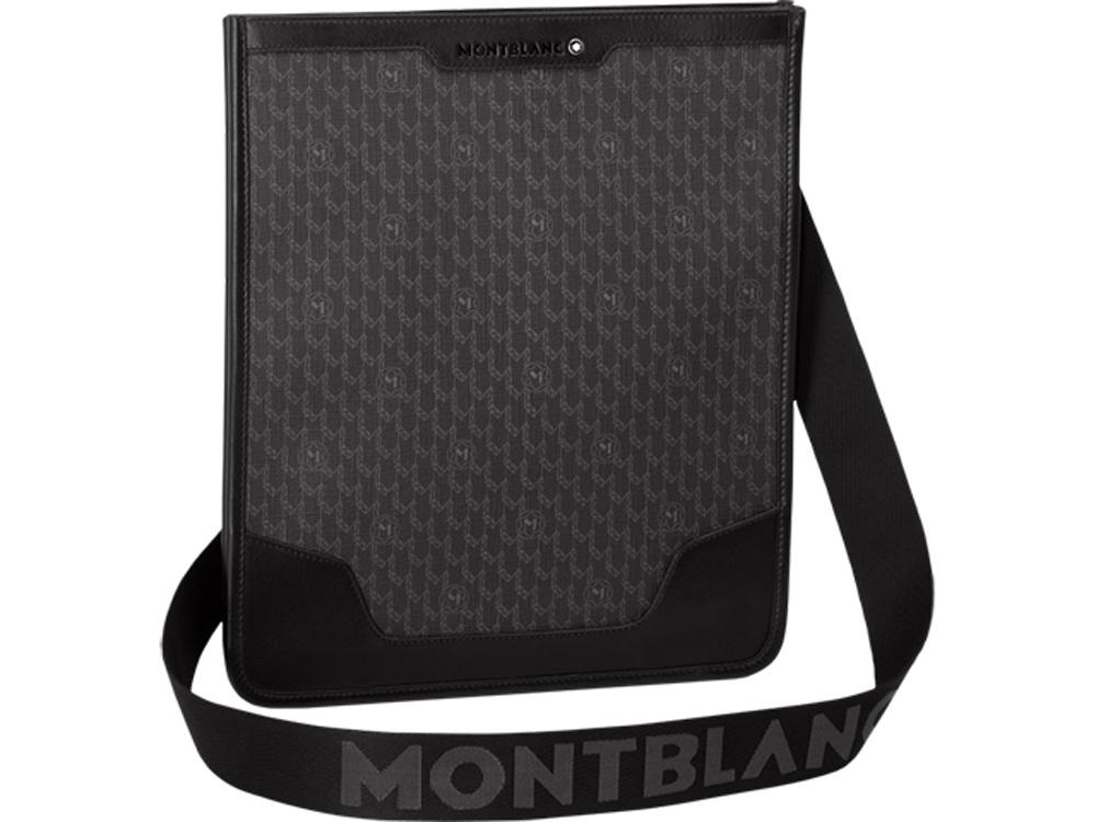 Сумка NightFlight Signature. Montblanc, серый, черный