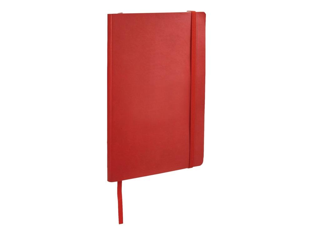 Классический блокнот А5 с мягкой обложкой, красный