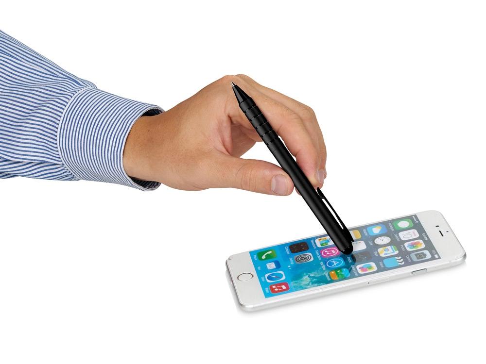 Ручка-стилус шариковая Fiber, черный