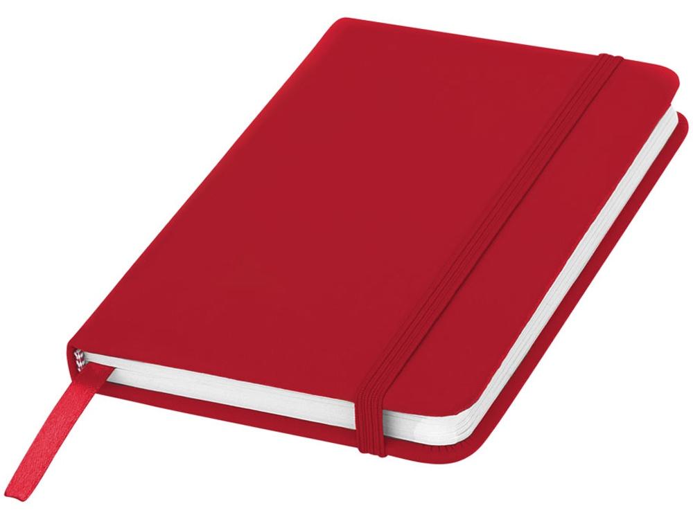 Блокнот А6 Spectrum, красный