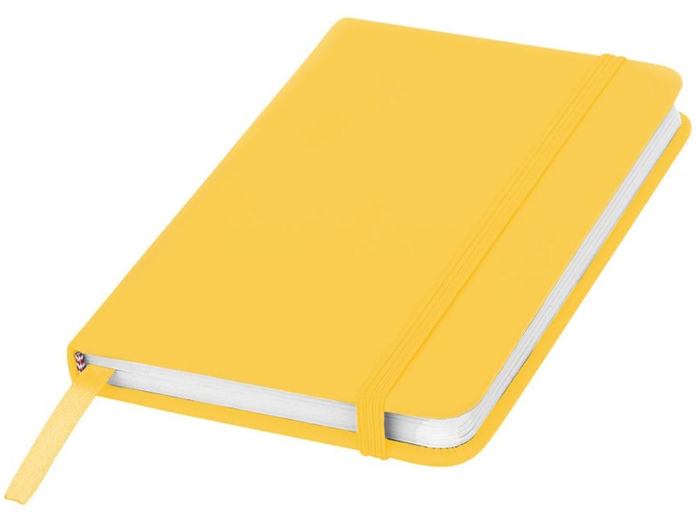 Блокнот А6 Spectrum, желтый