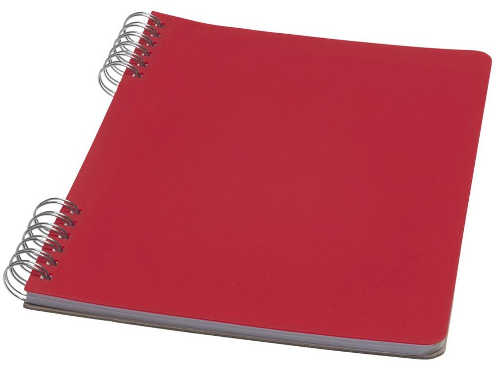 Блокнот Flex А5, красный