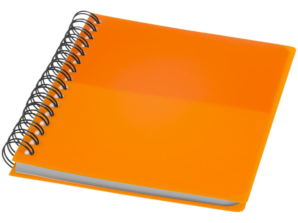 Блокнот Colour Block А6, оранжевый