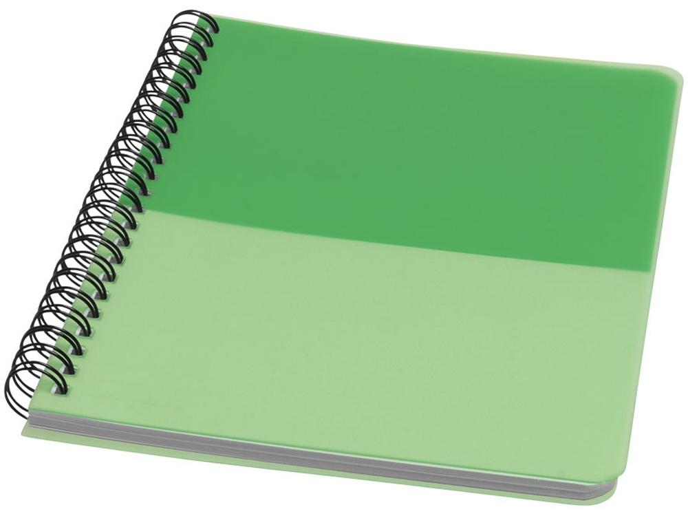 Блокнот ColourBlock А5, зеленый