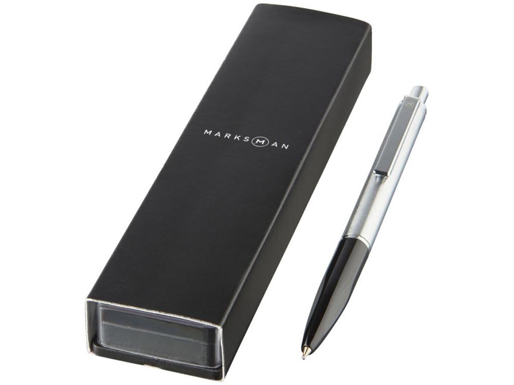 Шариковая ручка Dot, черный, синие чернила