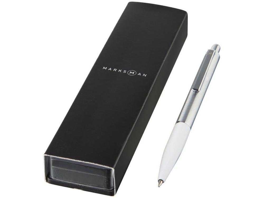 Шариковая ручка Dot, белый, синие чернила