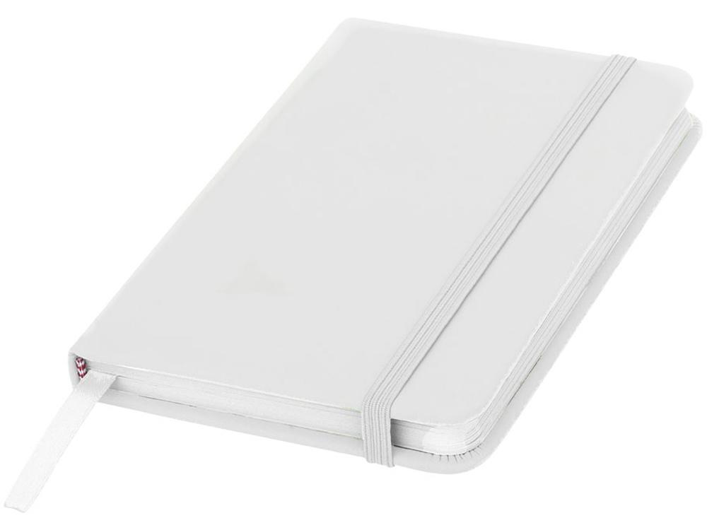Блокнот Spectrum A5 с белыми страницами, белый