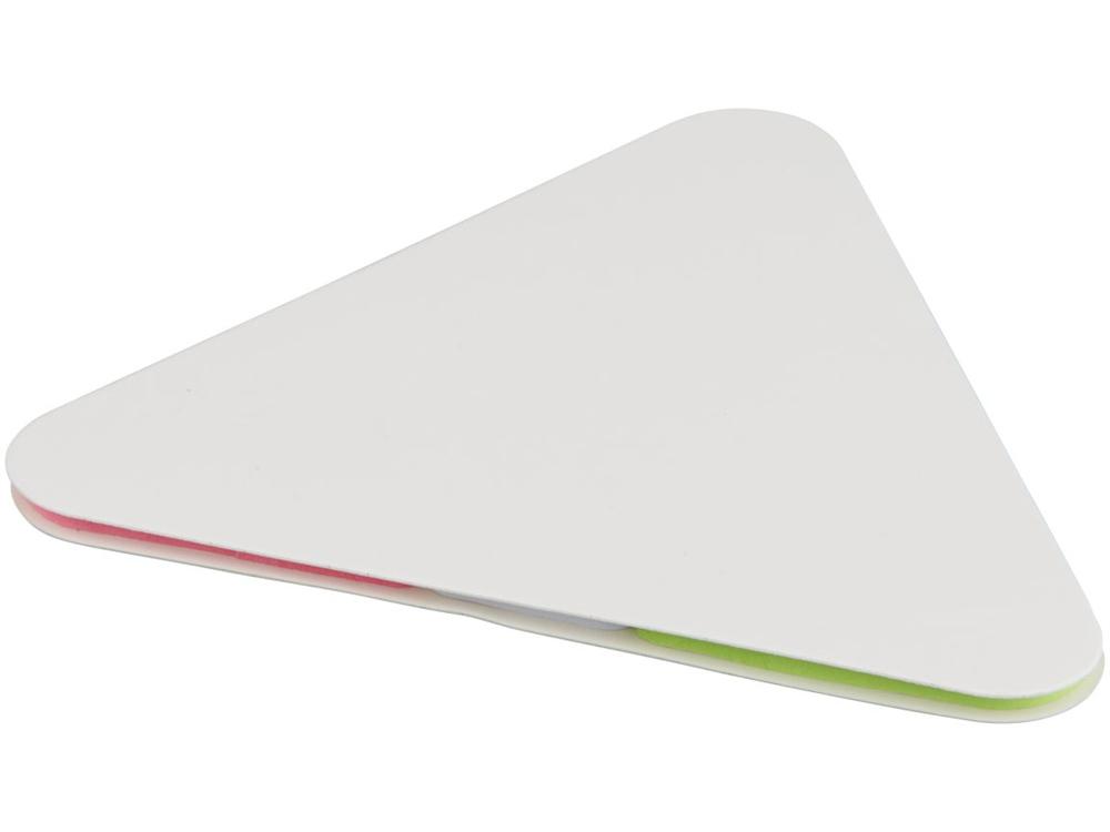 Треугольные стикеры, белый