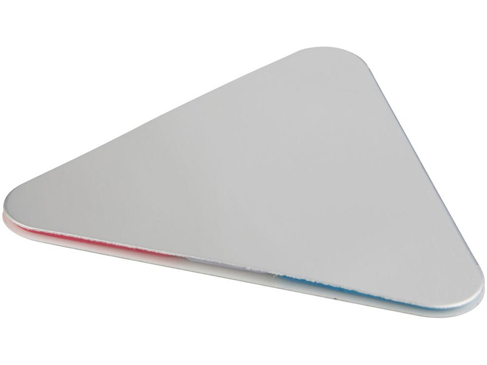Треугольные стикеры, серый