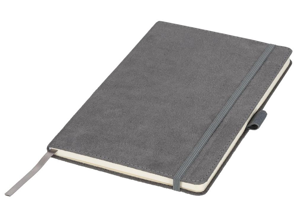 Блокнот А5 «Suede», серый