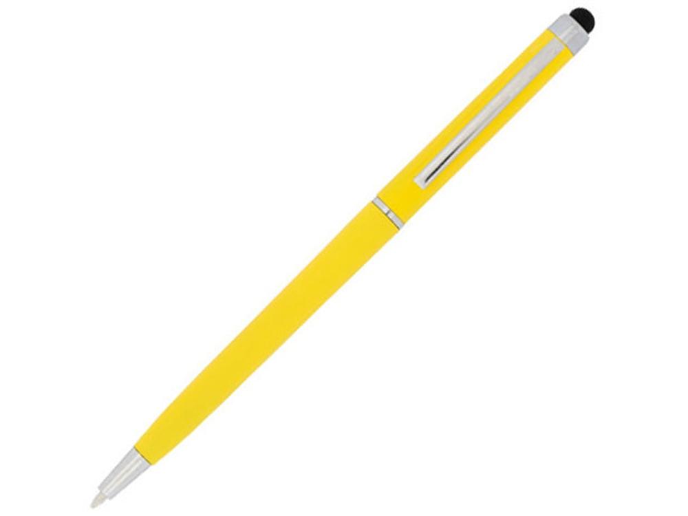 Ручка пластиковая шариковая Valeria, желтый